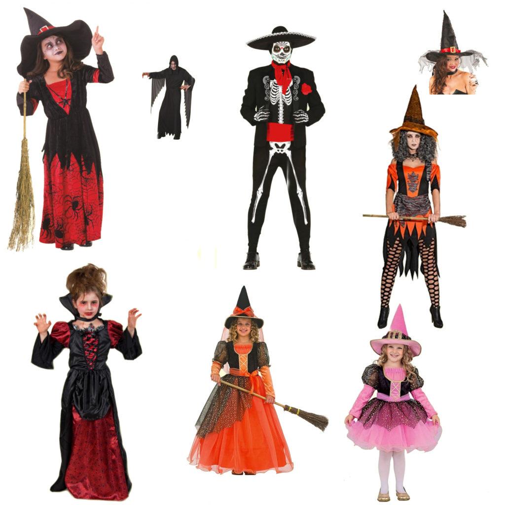 Einige Halloween-Kostüme
