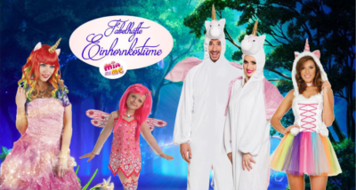 Einhorn Kostüme für Damen und Kinder