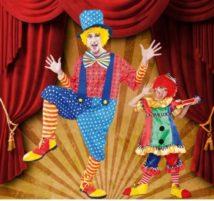 Clown Kostüme: Ein Harlekin für Groß und Klein
