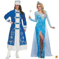 Eiskönigin oder Schneekönigin? Zwei Märchenwelten