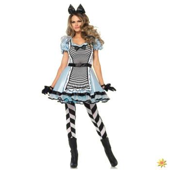 Kostüm Alice im Wunderland für Fasching