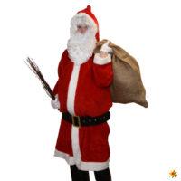 Weihnachtsmann Kostüm – wieso immer in rot?